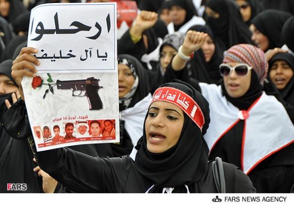 Bahrani women and their revolution نساء البحرینیه و الثوره